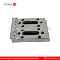 Binary hydraulic clamping fixture