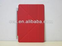 Wholesales Ultra Thin Transformer Fold Smart PU Leather Case For iPad mini iPad mini 2 Retina