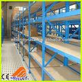 Ampliamente utilizado entresuelo bastidor de metal& estanterías, estantes entresuelo, almacén de almacenamiento multi- nivel estanterías entresuelo