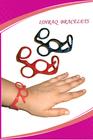 New Barber Shear Bracelet Gift Salon Hair Stylist Surgical Steel Titanium Coated Men 5464