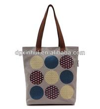 supplier canvas silk screen print shopping bag