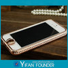New Arrival Luxury Diamond Bumper For iphone 5 5G Diamond Crystal Bling Aluminum iPhone 5 5S Bumper Case