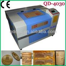 mini wood laser engraving machine price/Mini Tools nonmetal laser engraving machine rabbit QD-4030