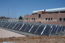 Non-pressurized Direct All Evacuated Glass vacuum tube solar collector