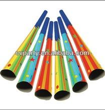 Popular cheap paper horn,birthday horn for kids birthday party favor horns