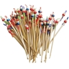 Bamboo Handmade Earpicks Clean Ears and Remove Wax with Doll Heads
