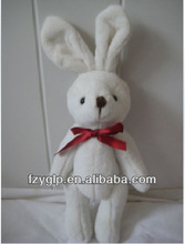 Bunny soft toys white rabbit for promotion gift