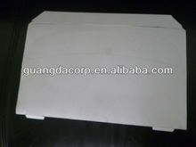 Disposable water soluble seat cover paper
