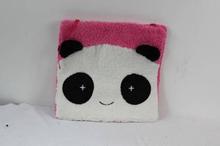 warm little gift cute animal face plush cushion