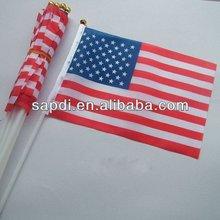 United States hand national flag