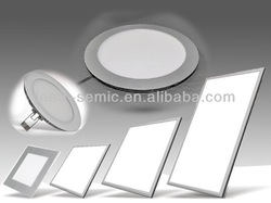 smd dimmable led panel light aluminum frame
