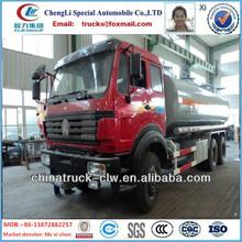 Hot selling North benz 6x4 fuel tank truck