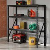 3 TIER RACKING / GARAGE SHELVING SHELVES STORAGE UNIT HEAVY DUTY + MDF SHELVES