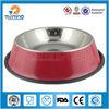 non-slip double pet dog bowl Stainless steel pet dog bowl pet product