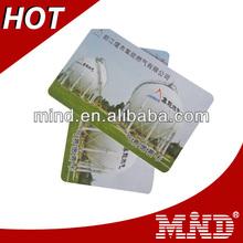 fashionable gym membership pvc plastic card