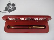 High Quality Fancy Design Carved Wood Pen