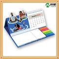 2014, calendario de mesa con bloc de notas