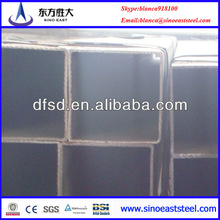 ERW ASTM A36 mild steel of black square steel tubes