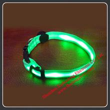 LED Pet Dog Puppy Collar At Night Leash Light-Emitting Safe For Pet