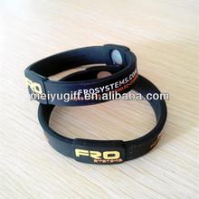 silicone powerful bracelet balance rubber power balances