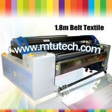 Digital Textile Belt Printer color image digital fabric