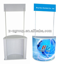 Outdoor used Promotion Deskfor retail store