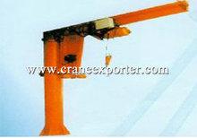 BZ 0.25-2t Fixed Jib Crane, Rotary Arm Crane
