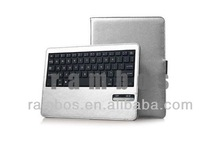 For iPad Mini 2 Retina Bluetooth Wireless Detachable Keyboard + Leather Stand Case
