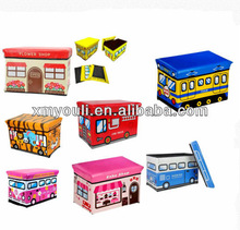 Global Decor Toy Box large toy storage Children's Storage Container / Stool