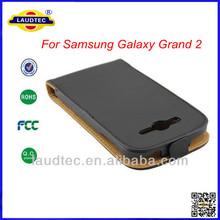 Ultra Slim Leather Flip Case for Samsung Galaxy Grand 2