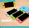 Beautiful Colorful Tempered Glass Screen Protective Film For iPhone 5/5s/5c