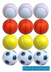 hot selling funny plastic new pu foam golf balls with EN71