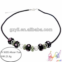 Promotional fashionable beaded necklace