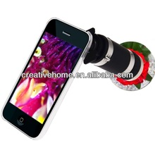 6X Zoom Lens Mobile Phone Telescope + Crystal Case for iPhone 3G & 3GS