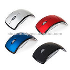 Foldable Wireless Mouse ,Features Built-In Mouse Memory & Digital Wireless Transmission