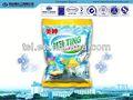 De limón fresco 12% oem de la liga/jabón odm productos de lavado detergente de lavandería etiqueta d2