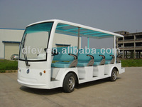 Electric sightseeing bus 14 seater electric car for sale