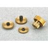 OEM/ODM metal fabrication service precise small brass spur gear