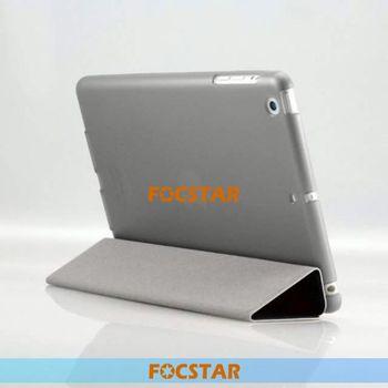 Three Folding Flip Leather Case for iPad Mini Retina F-IPDMINILC022