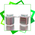 Custom metal spinning counter top display rack for toothbrush or toothpaste