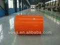 Pré pintado galvanize bobina de aço folha de pvc para móveis revestimento