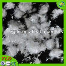Polyfiber natural fibers concrete
