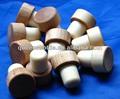 personalizada de corcho del vino tapón de la botella de madera tapa de corcho sintético para la venta