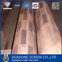 Sand control perforated liner for oil well drilling(API standard)