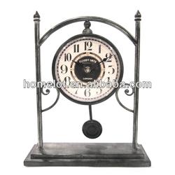 Metal Decorative Table Clock Desk Clock
