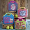 Alphbat printing kids lunch bag