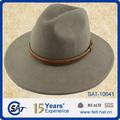 2014 outono inverno 100% lã australiana chapéu de safári