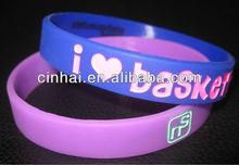 Enjoyable Silicon Wristband with any of custom design