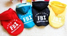 pet dogs sweater FBI sweater