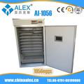Ai-1056 tenendo usato incubatrici pollame professionale a controllo solare incubatore di pollo anatra oca